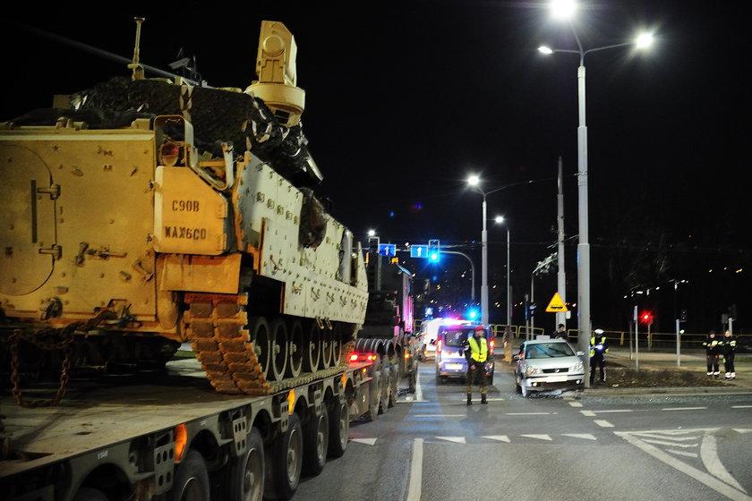 Wypadek w Bydgoszczy