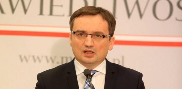 Minister Sprawiedliwosci Zbigniew Ziobro. Fot. Jacek Marczewski / Agencja Gazeta