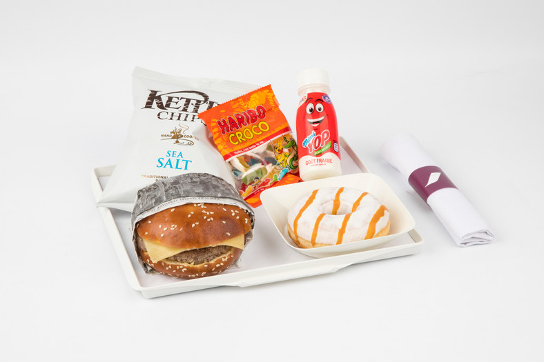 A la Carte Menu Air France- My Fun Menu 2