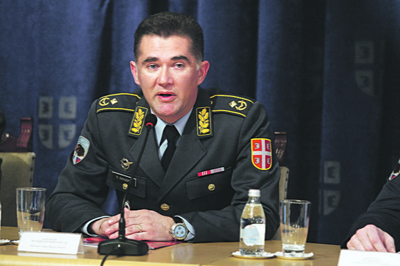 Predrag Bandić, komandant 204. vazduhoplovne brigade