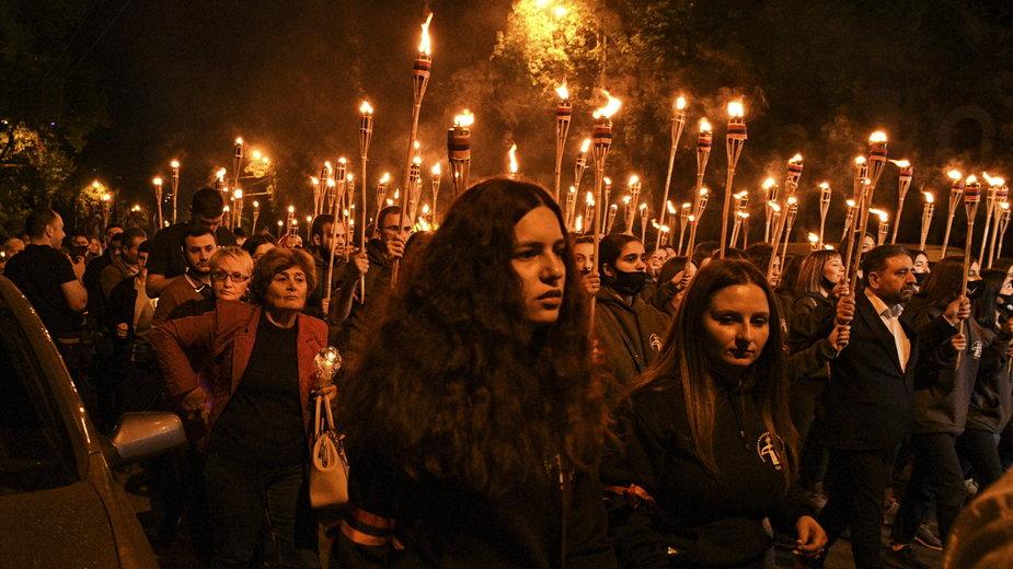 Erewań: obchody 106 rocznicy ludobójstwa Ormian
