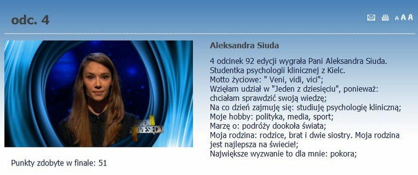 Aleksandra Siuda