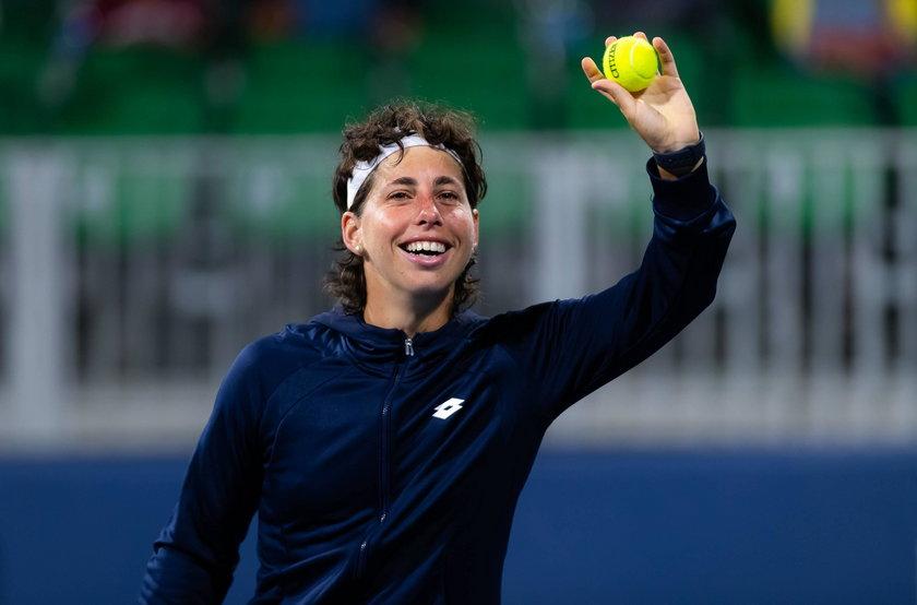 Tenisistka Carla Suarez Navarro