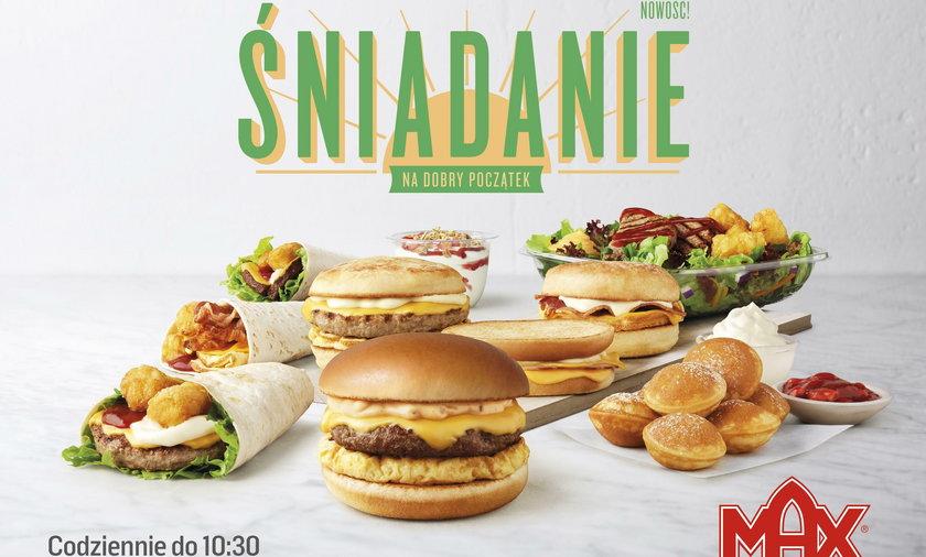 Max Premium Burgers wprowadza ofertę śniadaniową