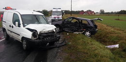 Tragedia na drodze. Kierowca reanimowany prawie godzinę