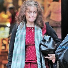 Helena Bonham Carter - to nie był jej najlepszy dzień!