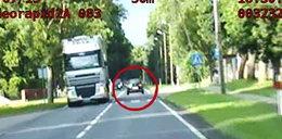 Młody kierowca gnał 140 km/h po mieście! FILM