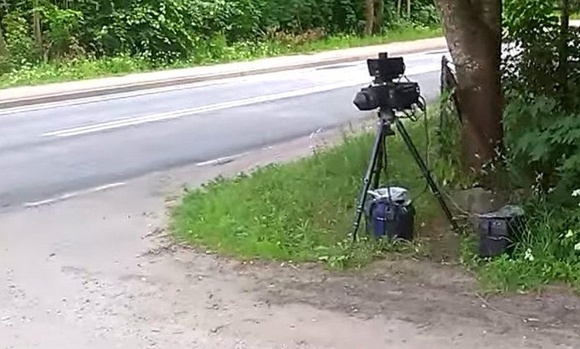 Fotoradar w Miłkach zarabia na pensję dla urzędników