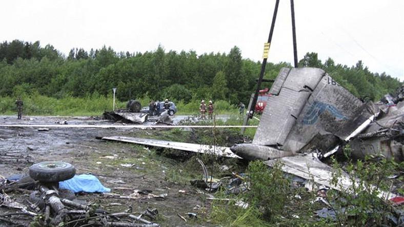 Błąd pilota przyczyną katastrofy rosyjskiego Tu-134