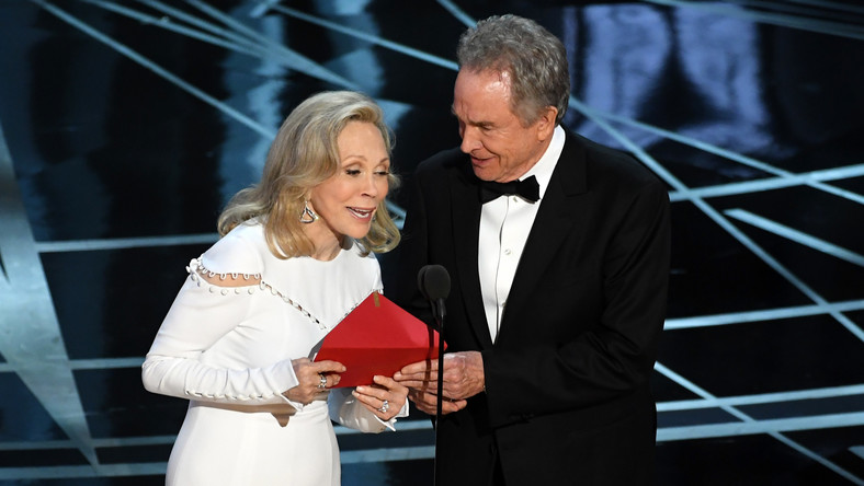 Warren Beatty i Faye Dunaway na Oscarach 2017