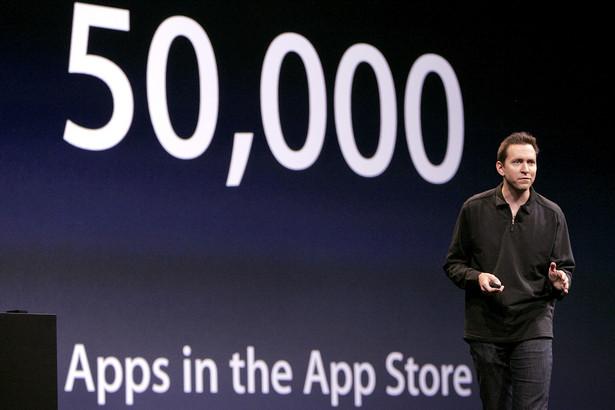 Scott Forstall odpowiedzialny za sklep z aplikacjami do iPhone'a - App Store