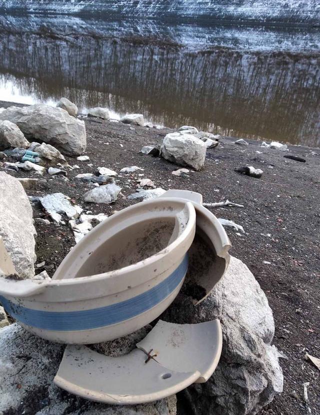U poređenju sa prtehodnom godinom vodostaj jezera kod Užica je mali