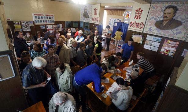 Referendum na Ukrainie. Fot. EPA/MAXIM SHIPENKOV