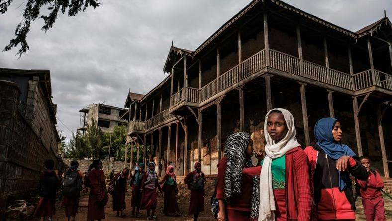 Palatial homes are scattered throughout Addis Ababa, built for Imperial-era courtiers and foreign business moguls, but most have slid into dire neglect as the government focuses on an aspirational building boom