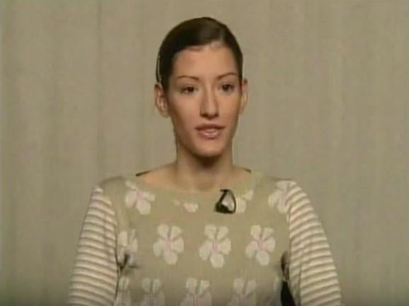 Jovana Janković počela je karijeru na BK televiziji 2001. godine