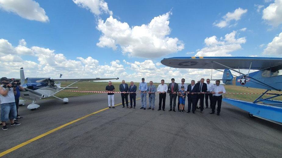 Suwałki: otwarto lokalne lotnisko