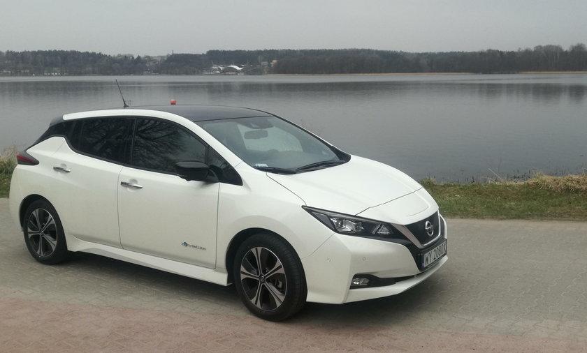 Nowy Nissan Leaf - pierwsza jazda