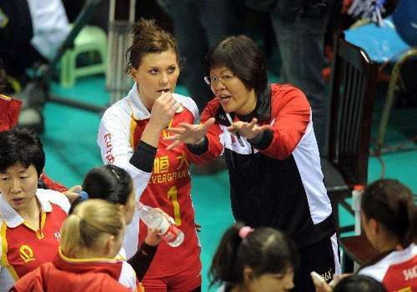Katarzyna Skowrońska w Wigilię gra mecz ligowy w Chinach