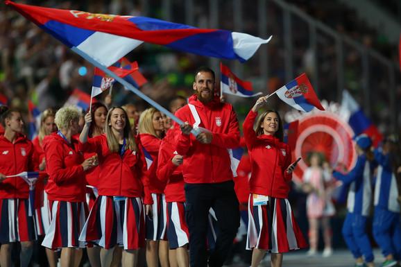 Marko Ždero, barjaktar naše sportske ekspedicije na Evropskim igrama