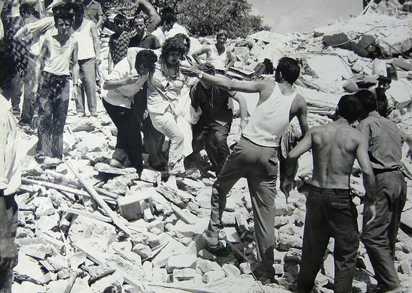 Skoplje je stradalo u zemljotresu 1963. godine