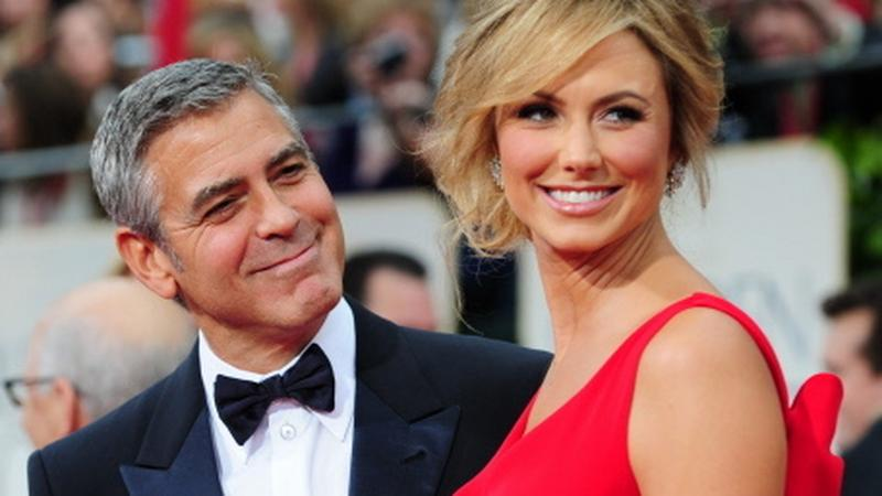Stacy Keibler i George Clooney