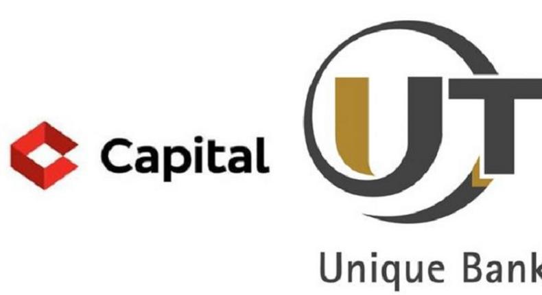 Logos of Capital and UT banks