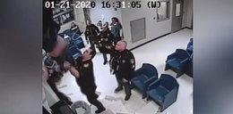 Komiczna wpadka w czasie ucieczki z więzienia. Zobacz FILM