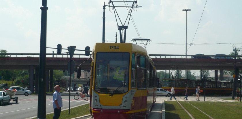 Upał w Łodzi. Awarie tramwajów