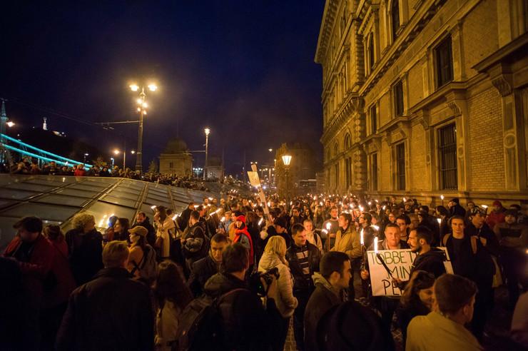 Budimpešta protest EPA Zoltan Balogh