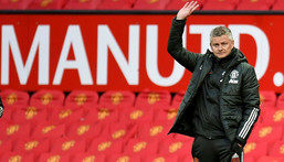 Ole Gunnar Solskjaer has signed a new deal that will keep him at Man utd until at least the end of 2024 Creator: PETER POWELL