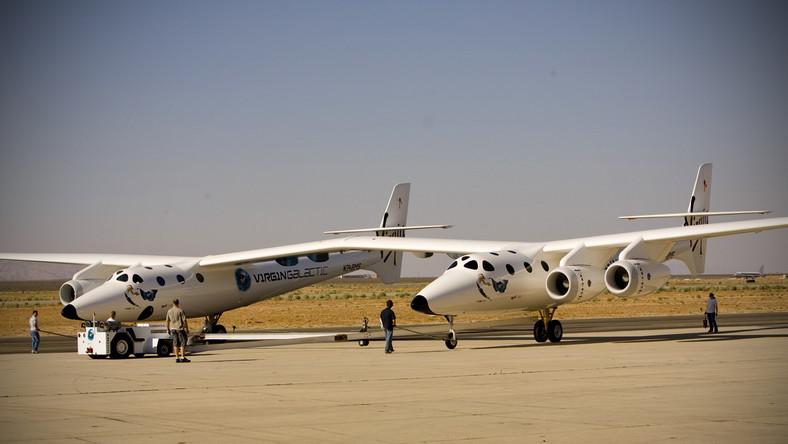 Statek kosmiczny Bransona gotów do testu