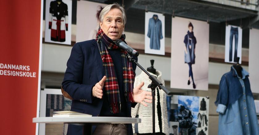 Tommy Hilfiger, projektant i założyciel firmy odzieżowej pod swoim nazwiskiem