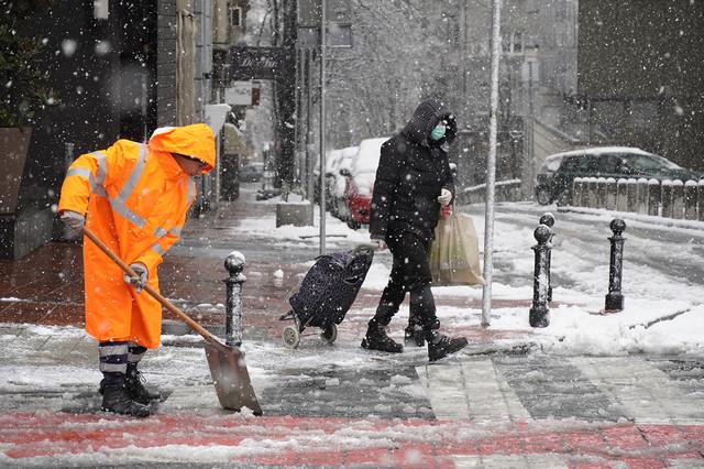 Iz RHMZ-a najavljuju da bi oko 22. i 23. decembra mogao da se formira kratkotrajni snežni pokrivač u Beogradu