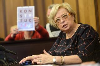 Małgorzata Gersdorf: Nowela ustaw sądowych prowadzi do opuszczenia UE
