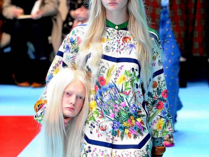 Ne želimo da verujemo da se OVO dogodilo, ali JESTE! Modeli su u Milanu u rukama nosili SOPSTVENE GLAVE, a to je bio samo početak BIZARNOSTI!