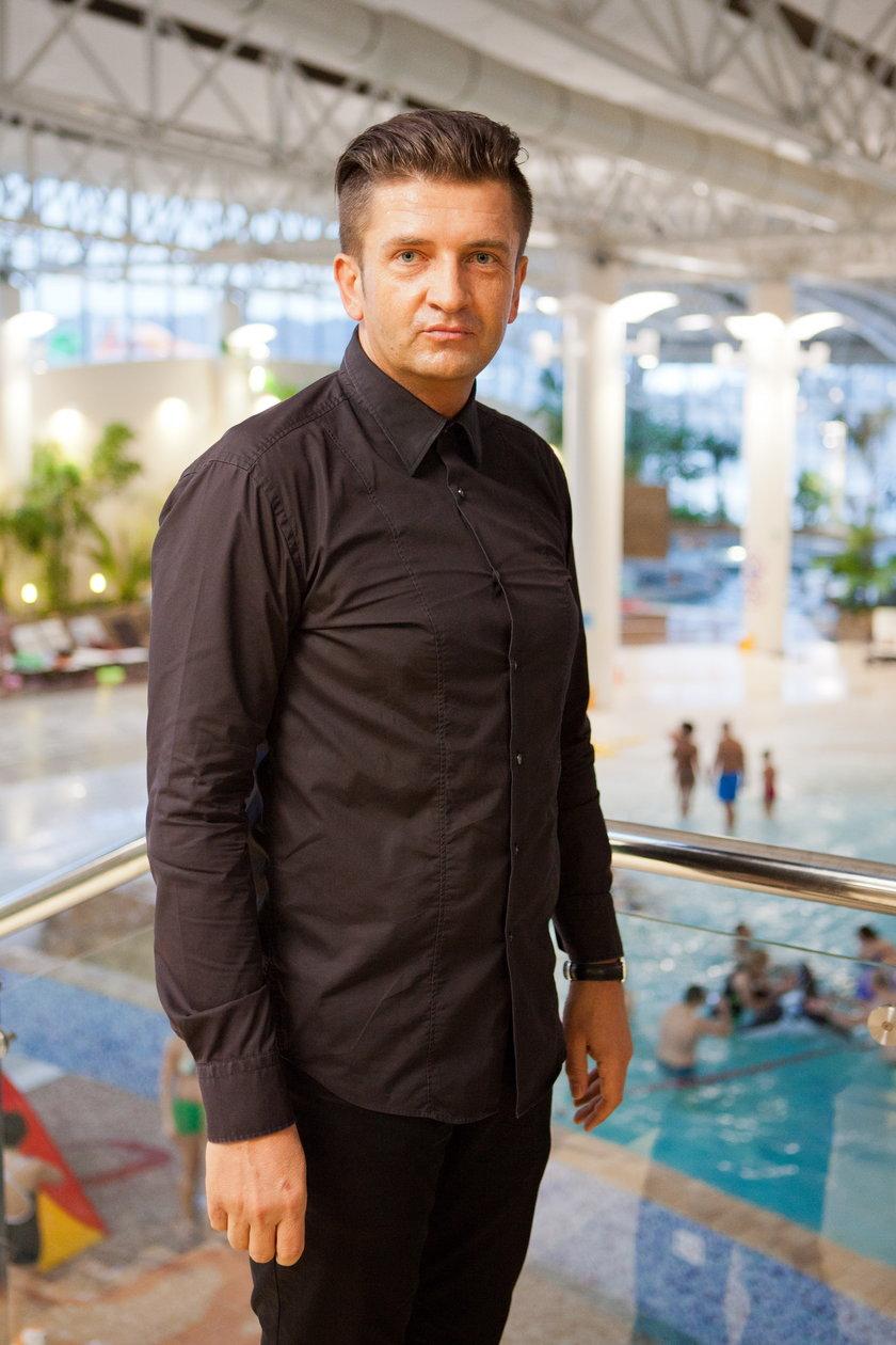 Dyrektor Jacek Witkiewicz z Term Maltańskich