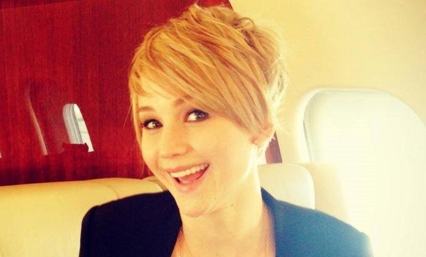 Jennifer Lawrence krótkie włosy