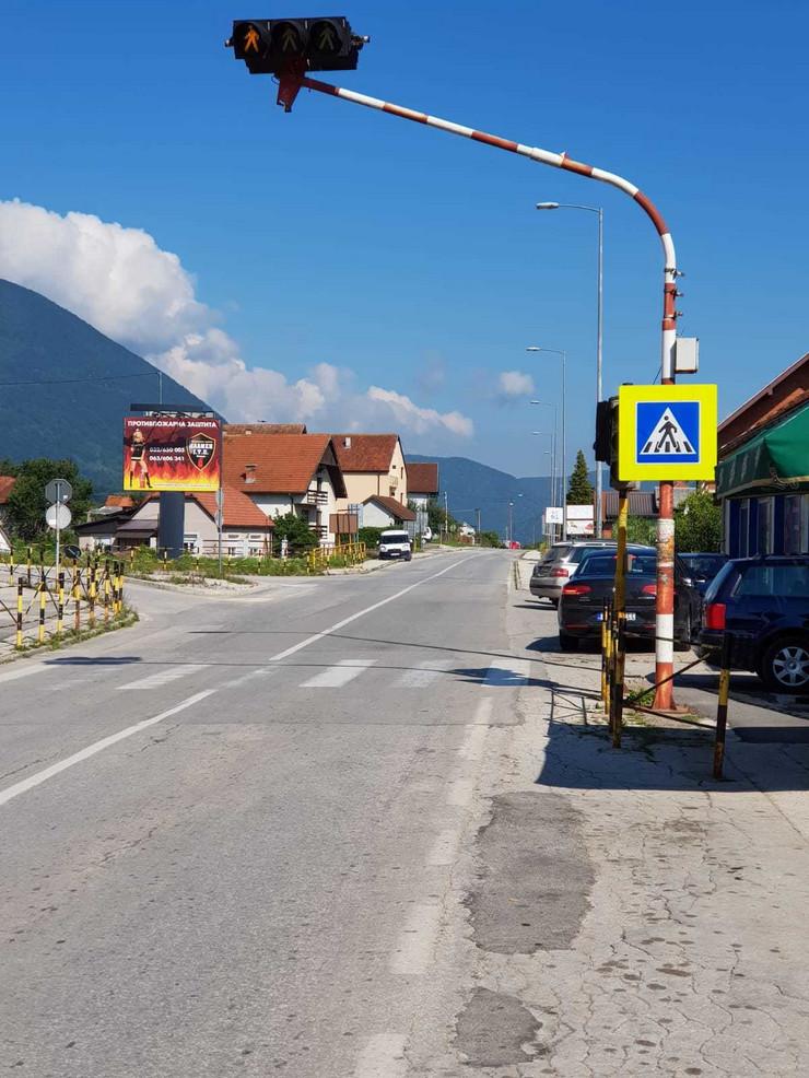 Ivanjica, crna tačka, raskrsnica, naselje Prilike