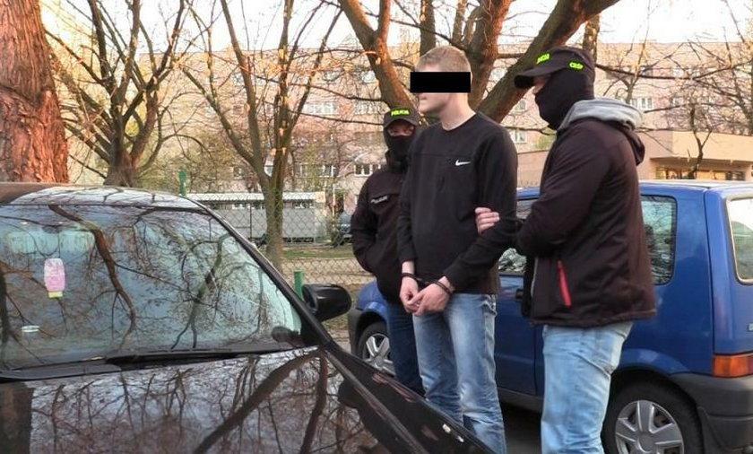 Policjanci rozbili narkotykowy gang