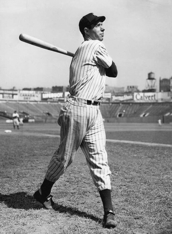 Joe DiMaggio (fot. Getty Images)