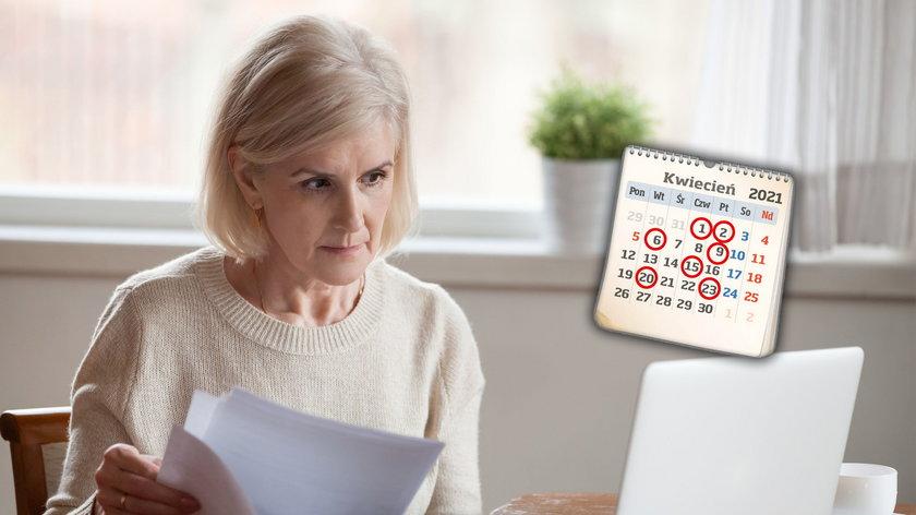 Trzynastka trafi do seniorów wraz z rentą lub emerytura jednym przelewem.