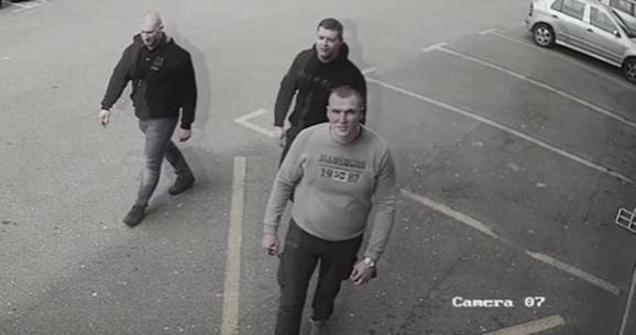 Snimak sa nadzornih kamera