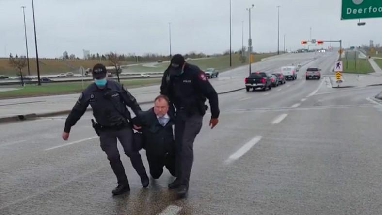 Artur Pawłowski zatrzymany na autostradzie