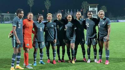 Asisat Oshoala the star as Super Falcons of Nigeria thrash Equatorial Guinea 9-0 to win Gold City tournament in Turkey