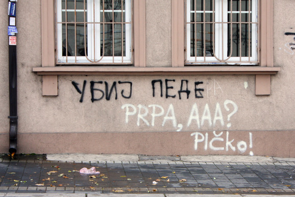 Odgovor na grafite mržnje