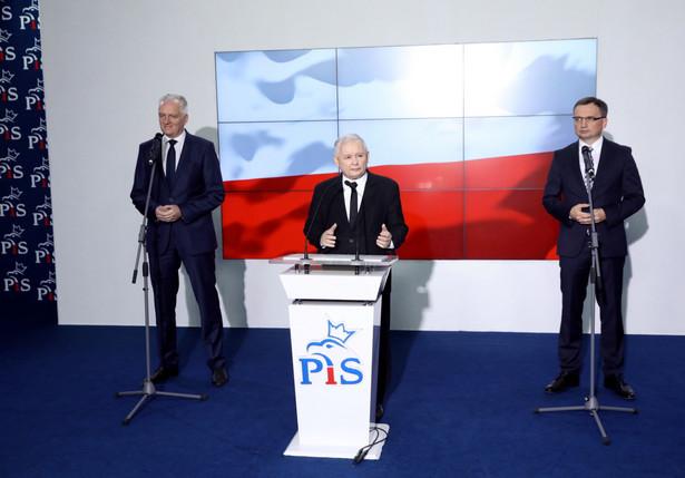 """Kaczyński oświadczył, że Zjednoczonej Prawicy chodzi również o to, aby zmienić status Polski i Polaków w Europie na """"pełnoprawny"""""""