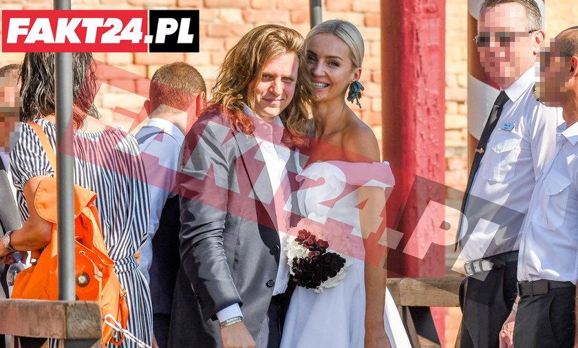 Ślub Agnieszki Szulim i Piotra Staraka w Wenecji