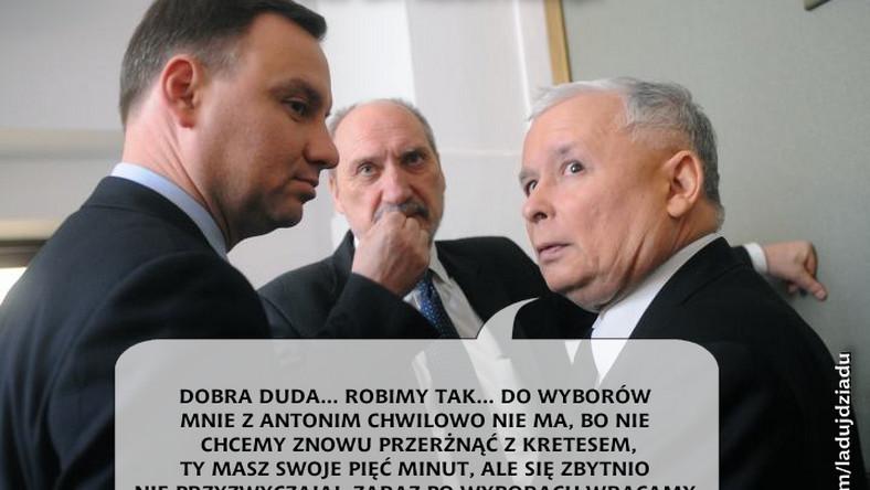 Prezes PiS mobilizuje partyjne szeregi. Andrzej Duda już dostał odpowiednie wytyczne.