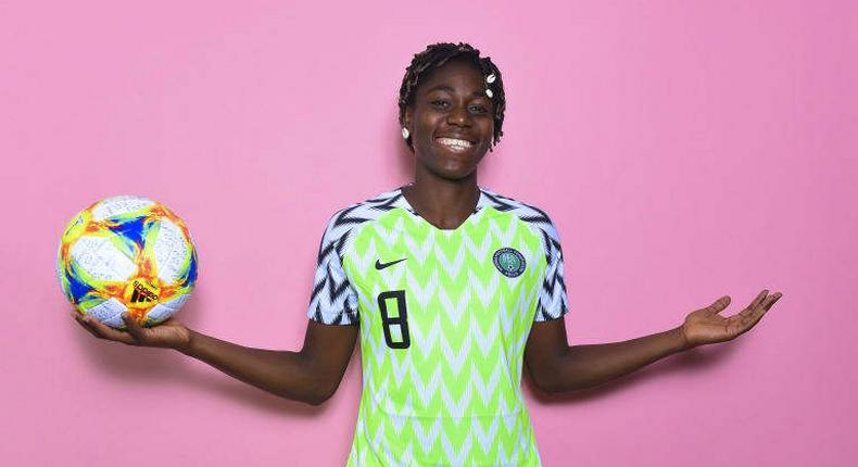 Asisat Oshoala has signed a deal with a management company