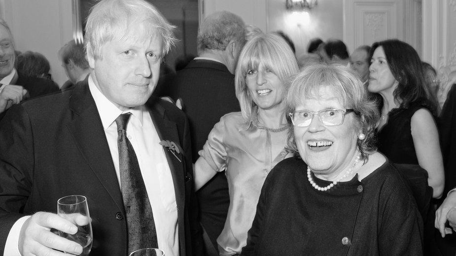 Boris Johnson z mamą